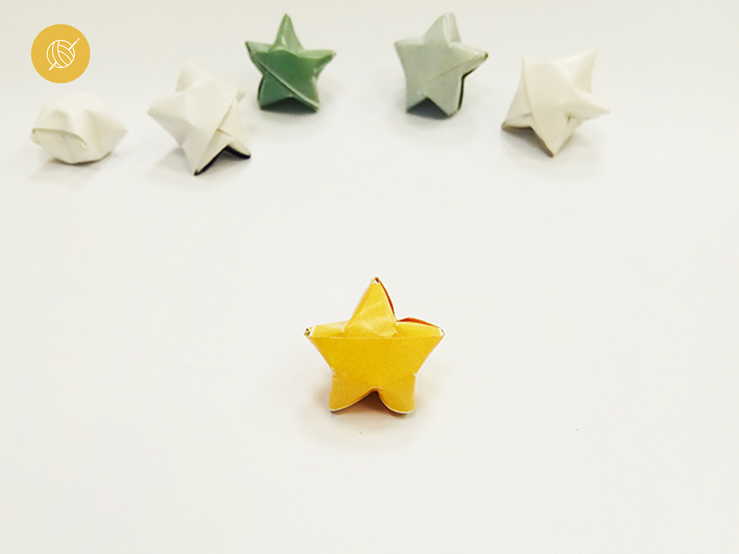 How to make 3D origami paper stars - Akamatra - photo#37