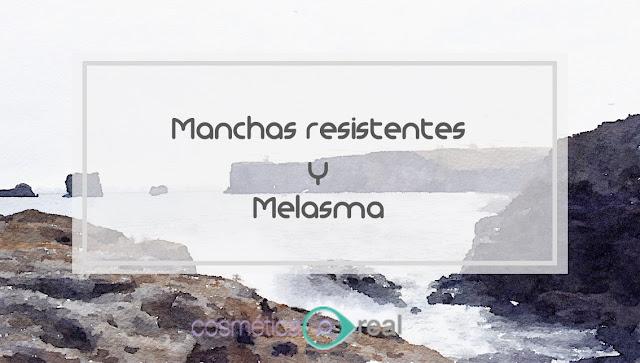 Manchas resistentes y Melasma: Celulas Cabra