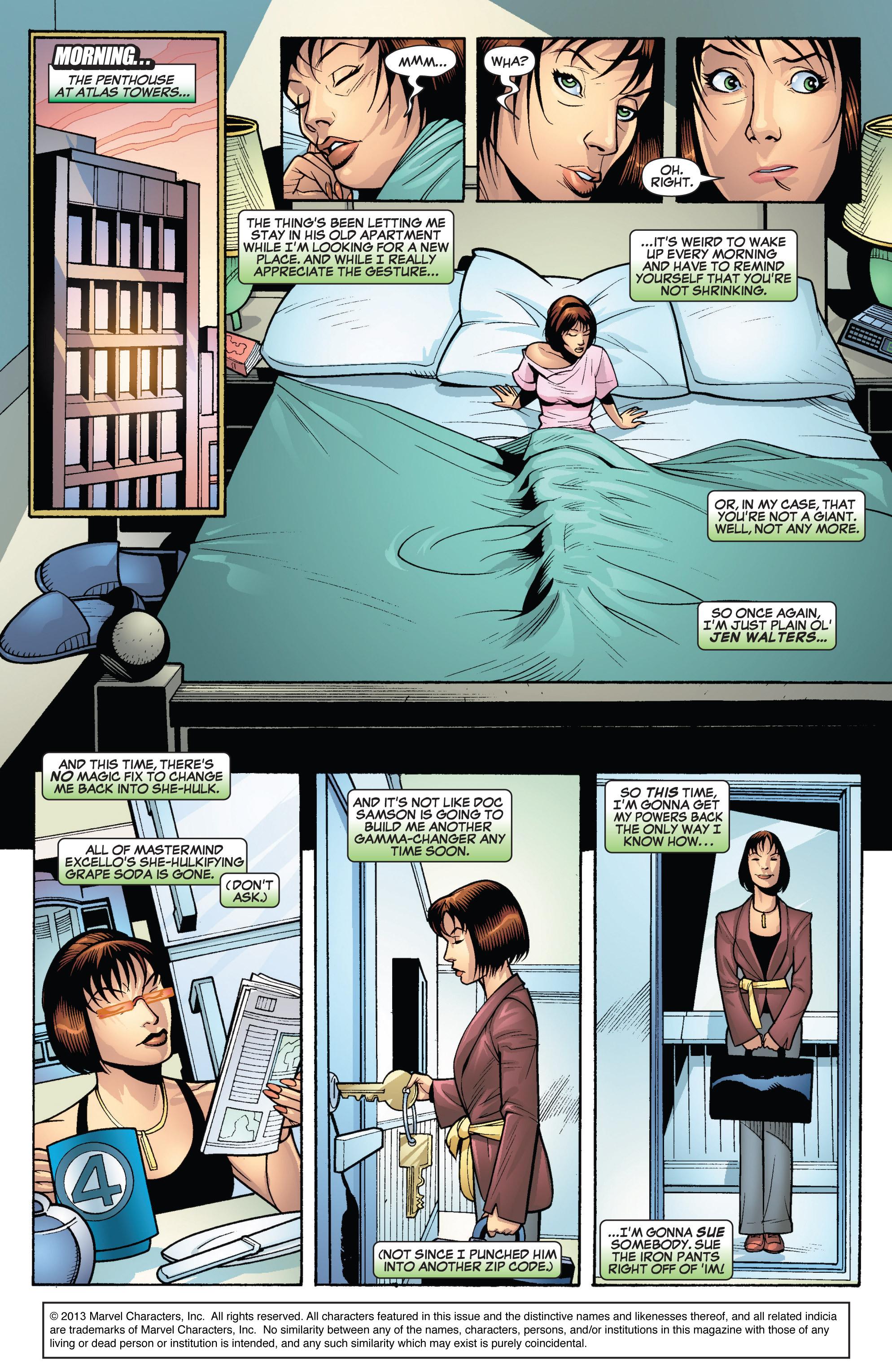 Read online She-Hulk (2005) comic -  Issue #19 - 2