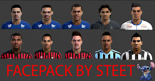 Facepack Eurica Pes 2013 By Steet