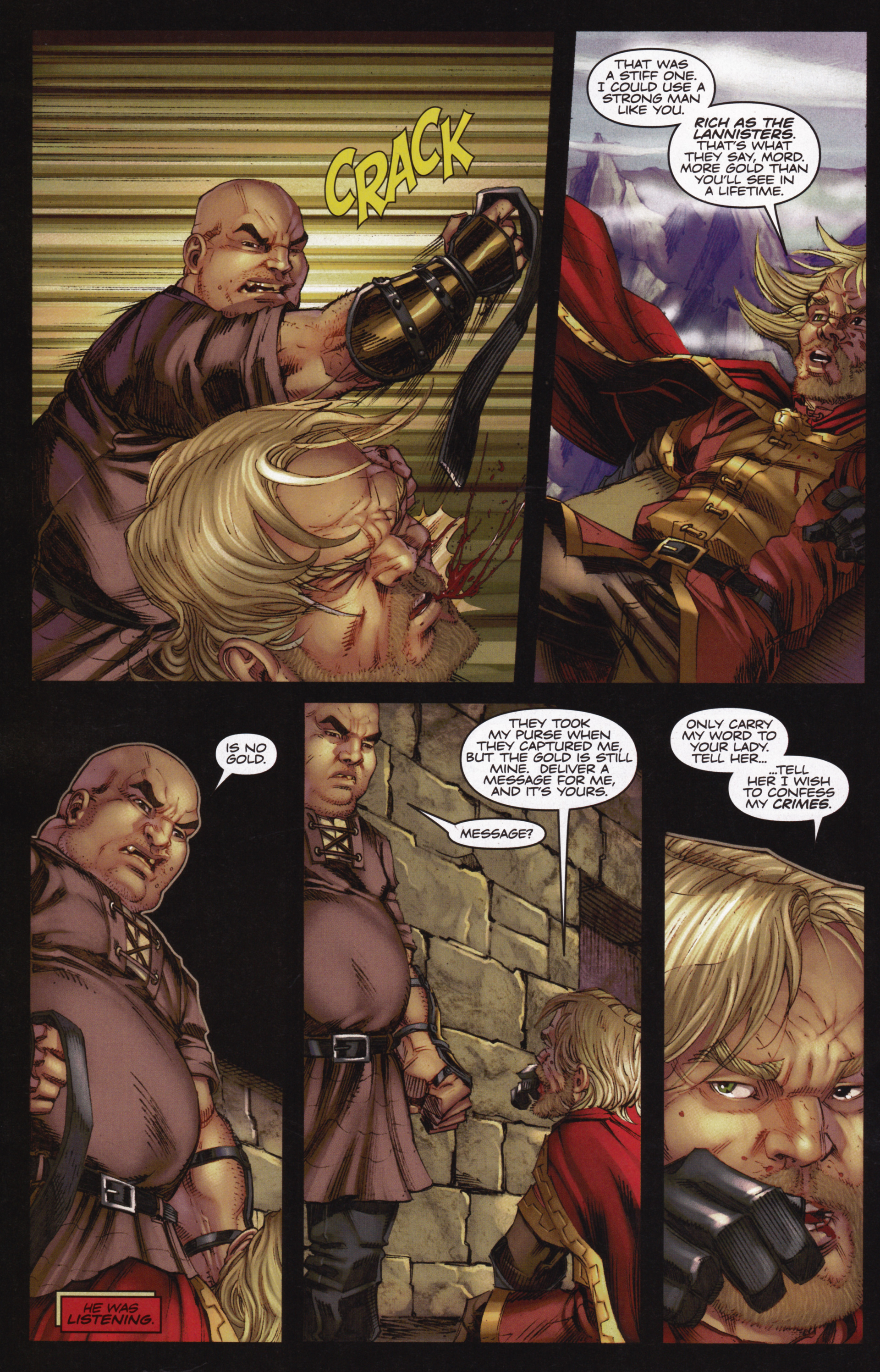 Read online A Game Of Thrones comic -  Issue #12 - 20