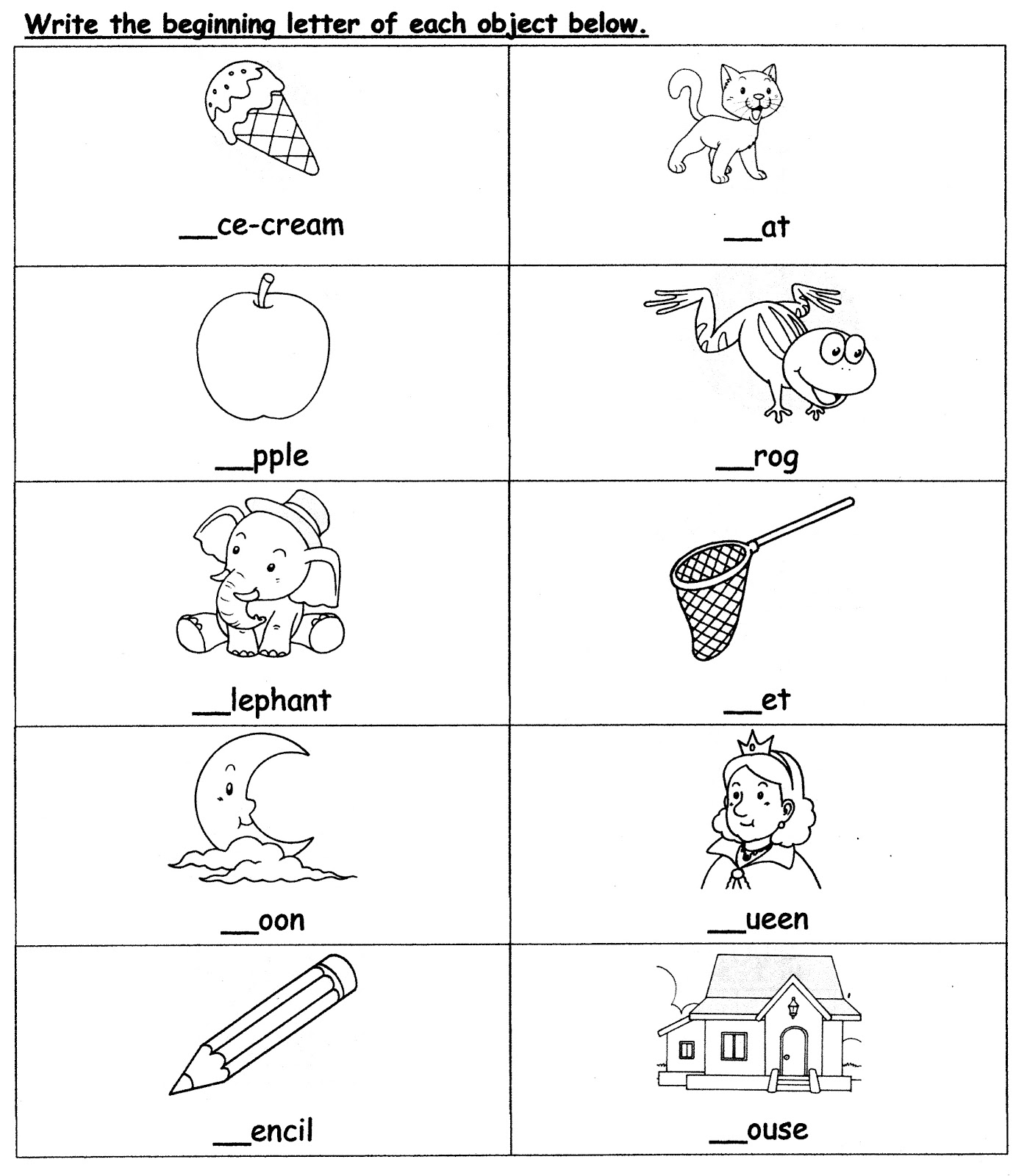 Worksheet English Year 5 Kssr