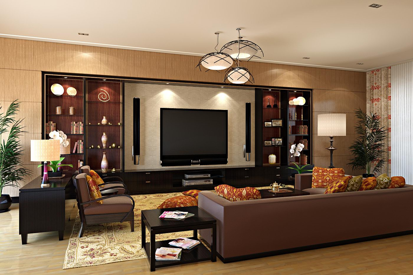 Home Living Room Designs