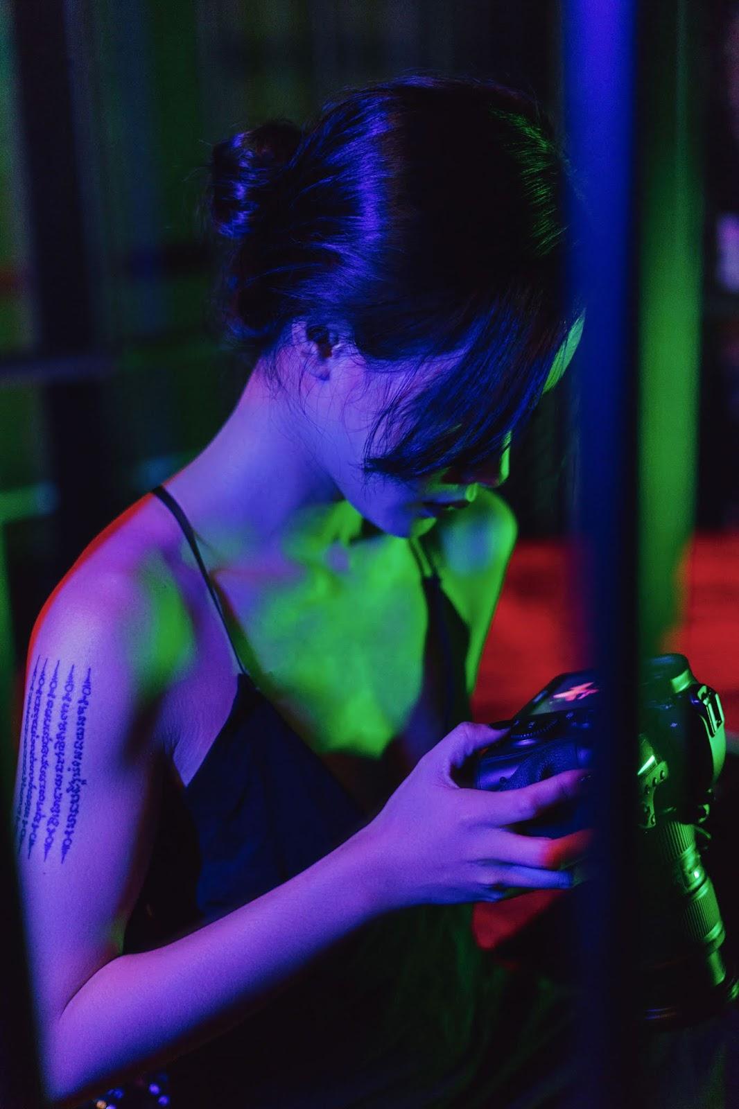 Model Ánh Duong va bộ ảnh 50 sắc thái việt