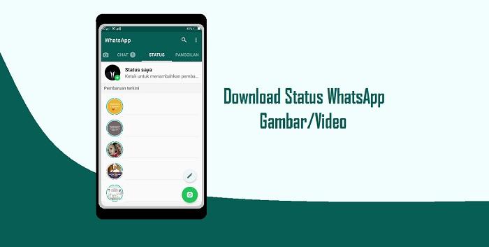 Cara Download Status WhatsApp Orang Lain Dengan Mudah