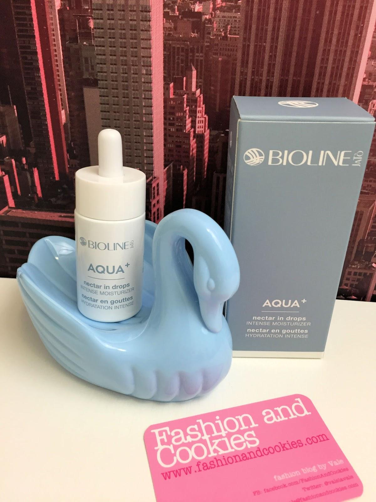 Bioline Jatò Aqua+ nettare in gocce idratazione intensiva review on Fashion and Cookies beauty blog, beauty blogger