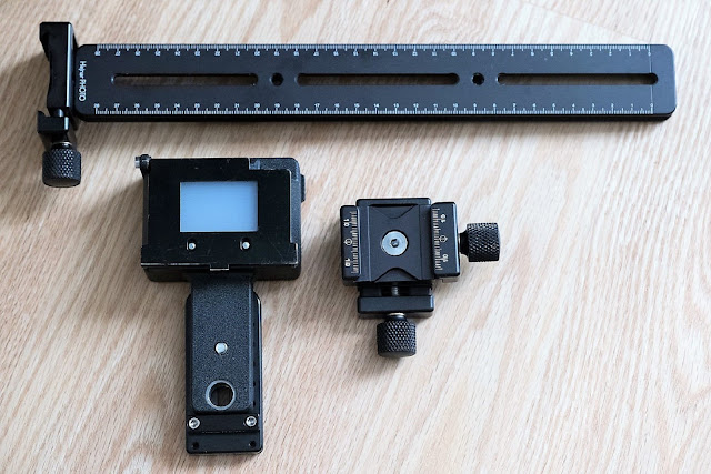 Hejnar Photo Nikon PS-5 Slide Duplicator Package components II