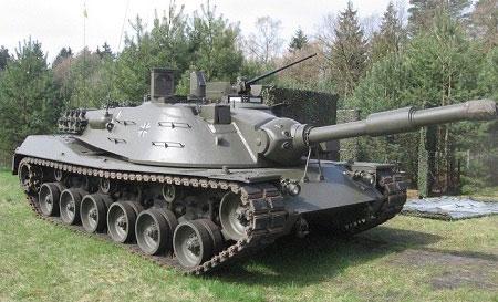 Немецкий танк MBT KPZ-70