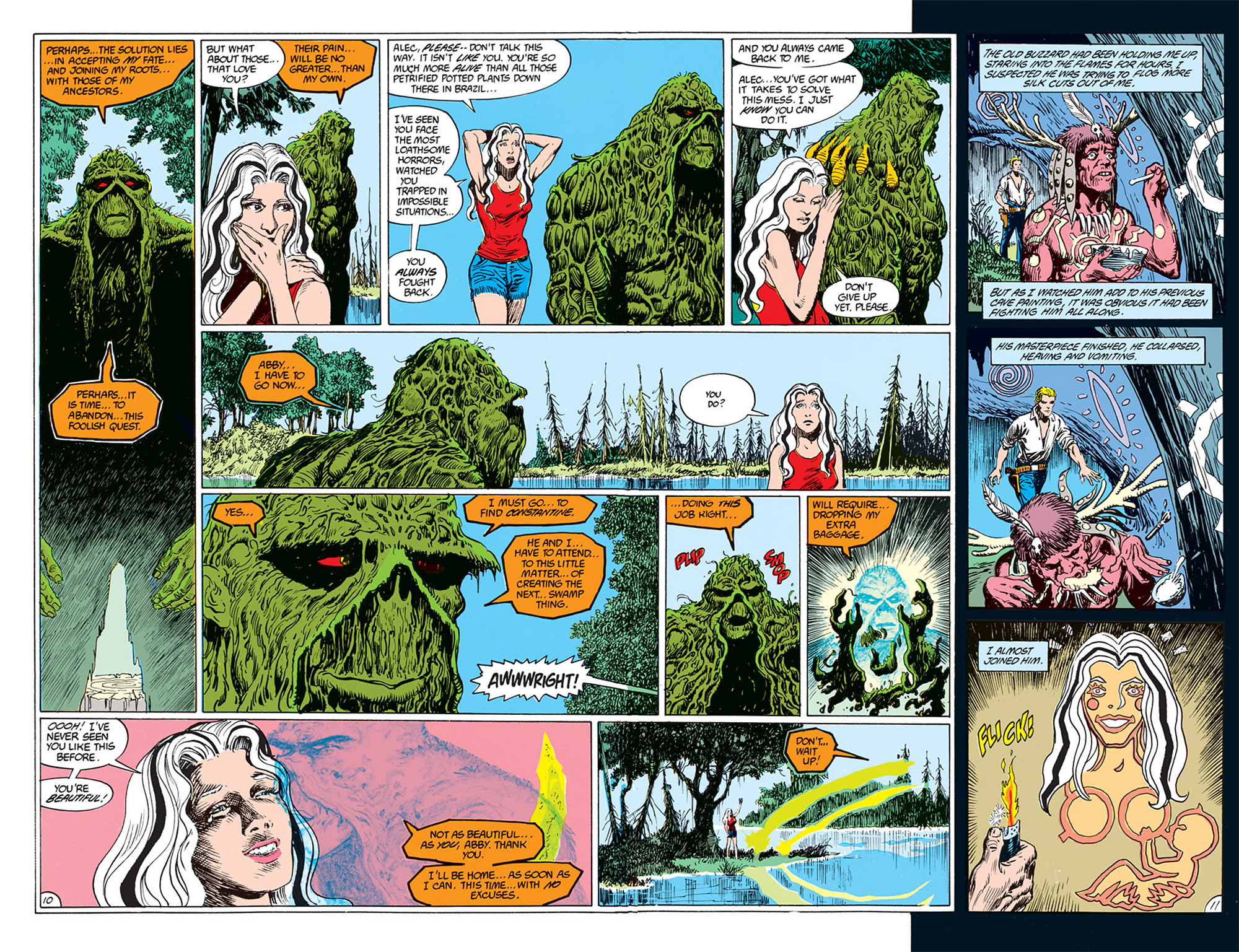 Swamp Thing (1982) Issue #72 #80 - English 7