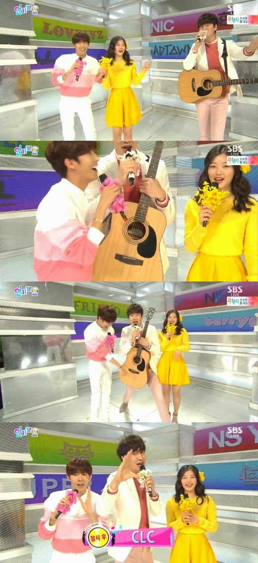 Lee Gwang Soo The Music Trend lee gwang soo inkigayo lee gwang soo running man red velvet music trend Lee Gwang Soo Music Trend Korean Entertainment Programs k pop mutation lee gwang soo film Hwang Kwang hee Kim Yoo Jung Busker Busker