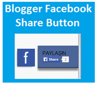 Blogger Facebook Share Button