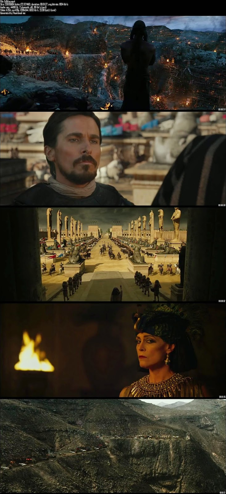 Mediafire Resumable Download Link For Teaser Promo Of Exodus Gods and Kings (2014)