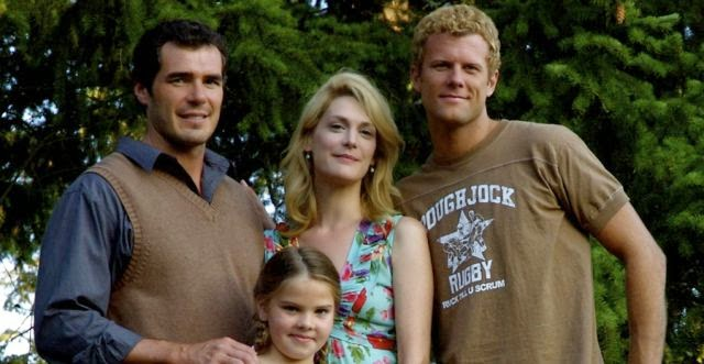 Derek Baynham y familia