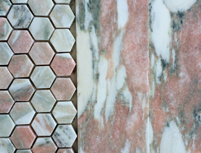 A kind of pink terracotta marble.