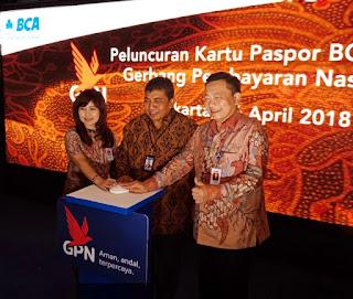 Peluncuran  Kartu Paspor BCA GPN