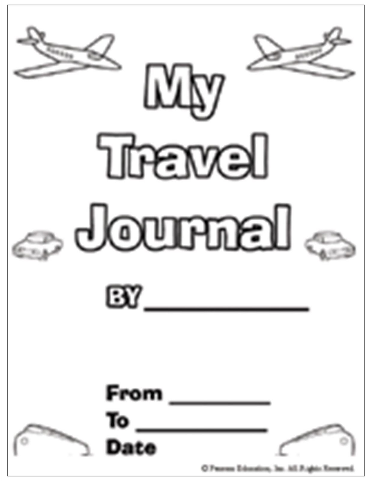 How To Be The Best Nanny Making Vacation Journals With Kids