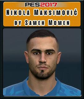 PES 2017 Faces Nikola Maksimović by Sameh Momen
