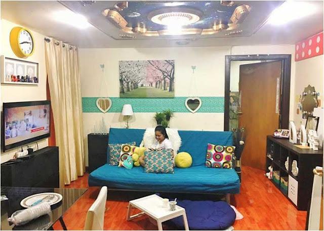 entriegeln sie das potenzial ihres kleinen wohnzimmers mit diesen leichten dekorations ideen. Black Bedroom Furniture Sets. Home Design Ideas