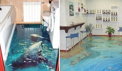Decoración 3D de baños