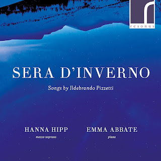 Sera d'Inverno - songs by Ildebrando Pizzetti - Resonus