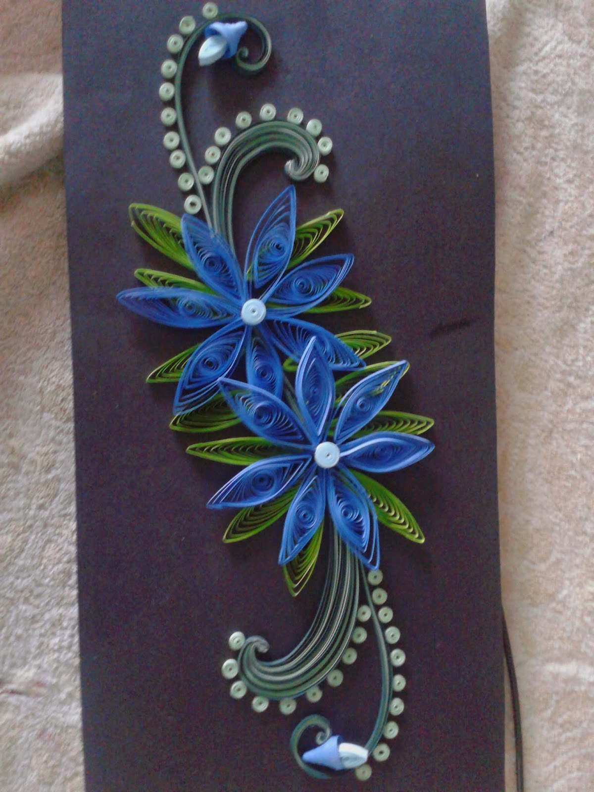 paper craft and quilling  quilled wall frames