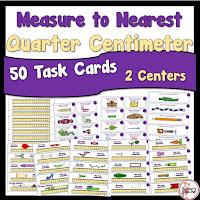 Measure to Nearest Quarter Centimeter