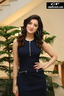 Richa Panai in Black Dress