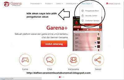 Cara Buat Akun PB Garena Indonesia