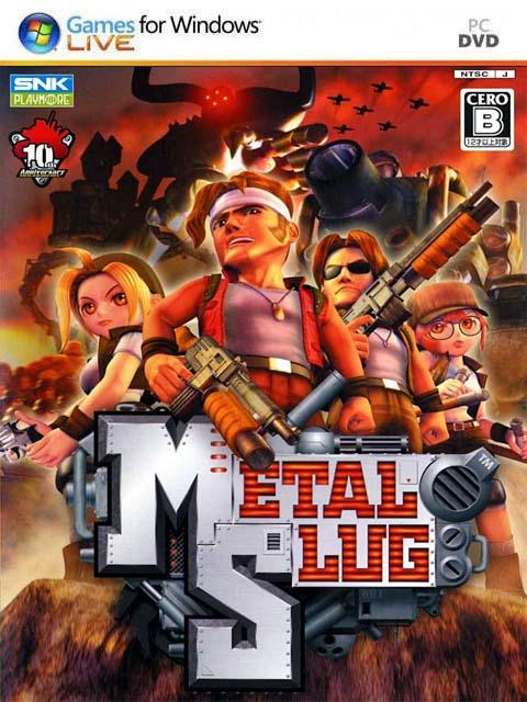 تحميل لعبة Metal Slug برابط مباشر + تورنت
