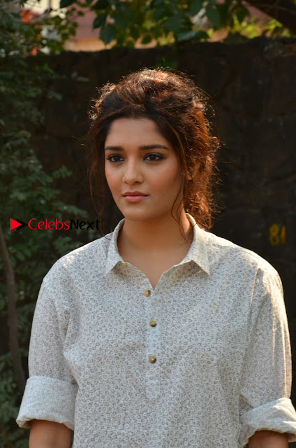 Actress Ritika Singh Stills in Denim Jeans at Sivalinga Movie Press Meet  0001.jpg