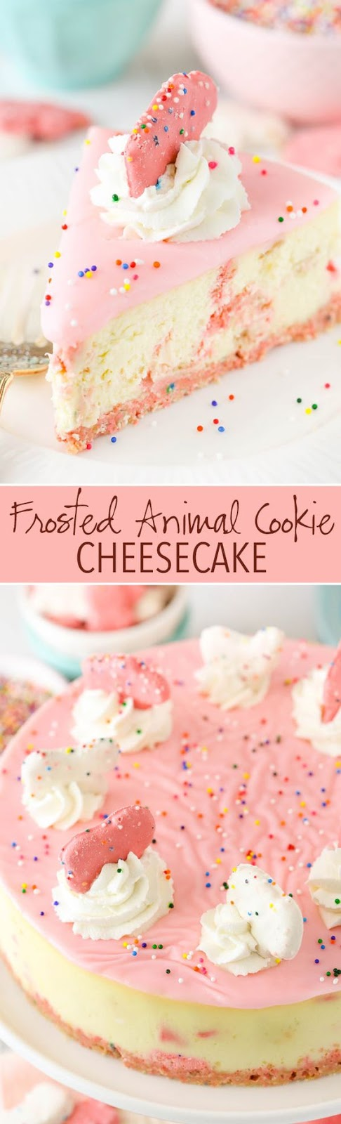 ★★★★☆ 7561 ratings | FROSTED ANIMAL COOKIE CHEESECAKE #HEALTHYFOOD #EASYRECIPES #DINNER #LAUCH #DELICIOUS #EASY #HOLIDAYS #RECIPE #FROSTED #ANIMAL #COOKIE #CHEESECAKE