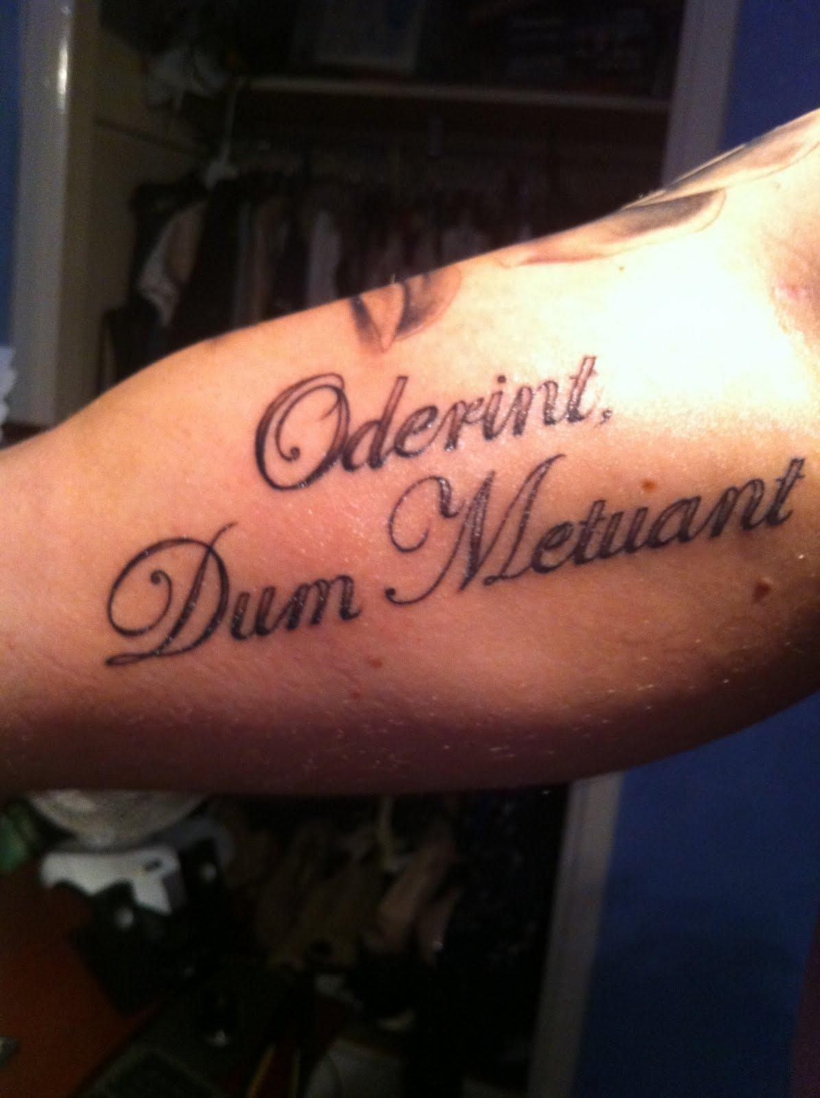 queen lyrics tattoo - photo #22