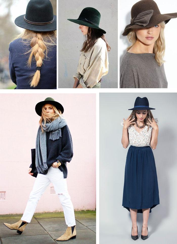 Este año los sombreros son un elemento clave de las tendencias de moda esta temporada Otoño-Invierno 2015/16