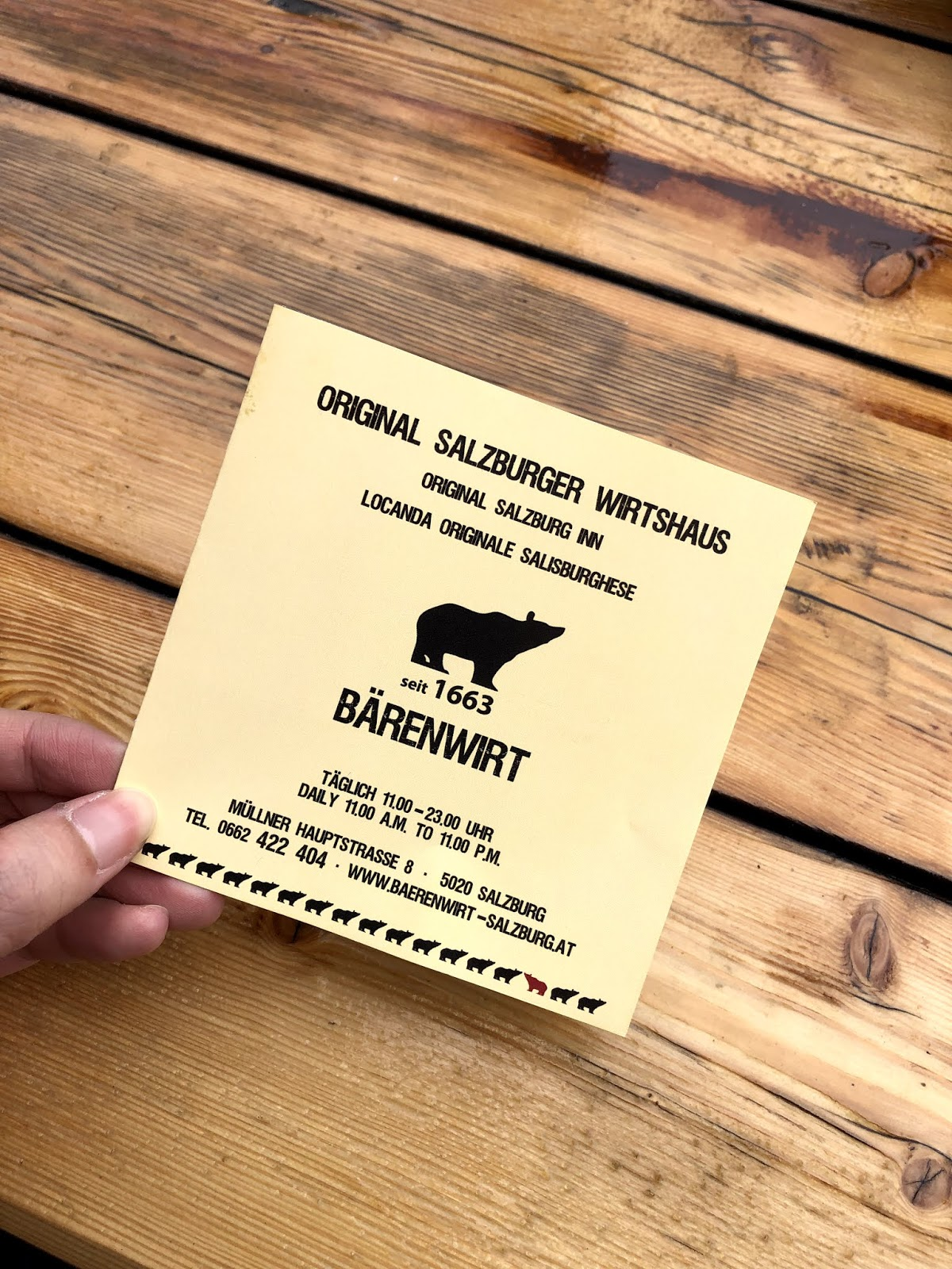 Salzburg Itinerary Barenwit Schnitzel