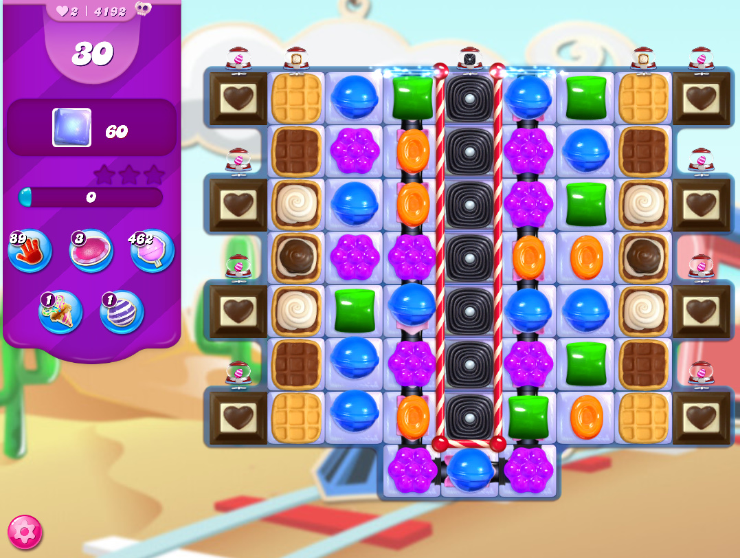 Candy Crush Saga level 4192