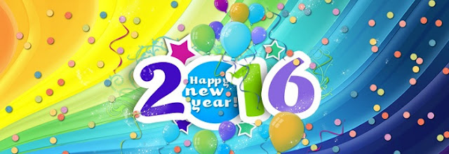 Cool Happy New Year 2016 FB Covers