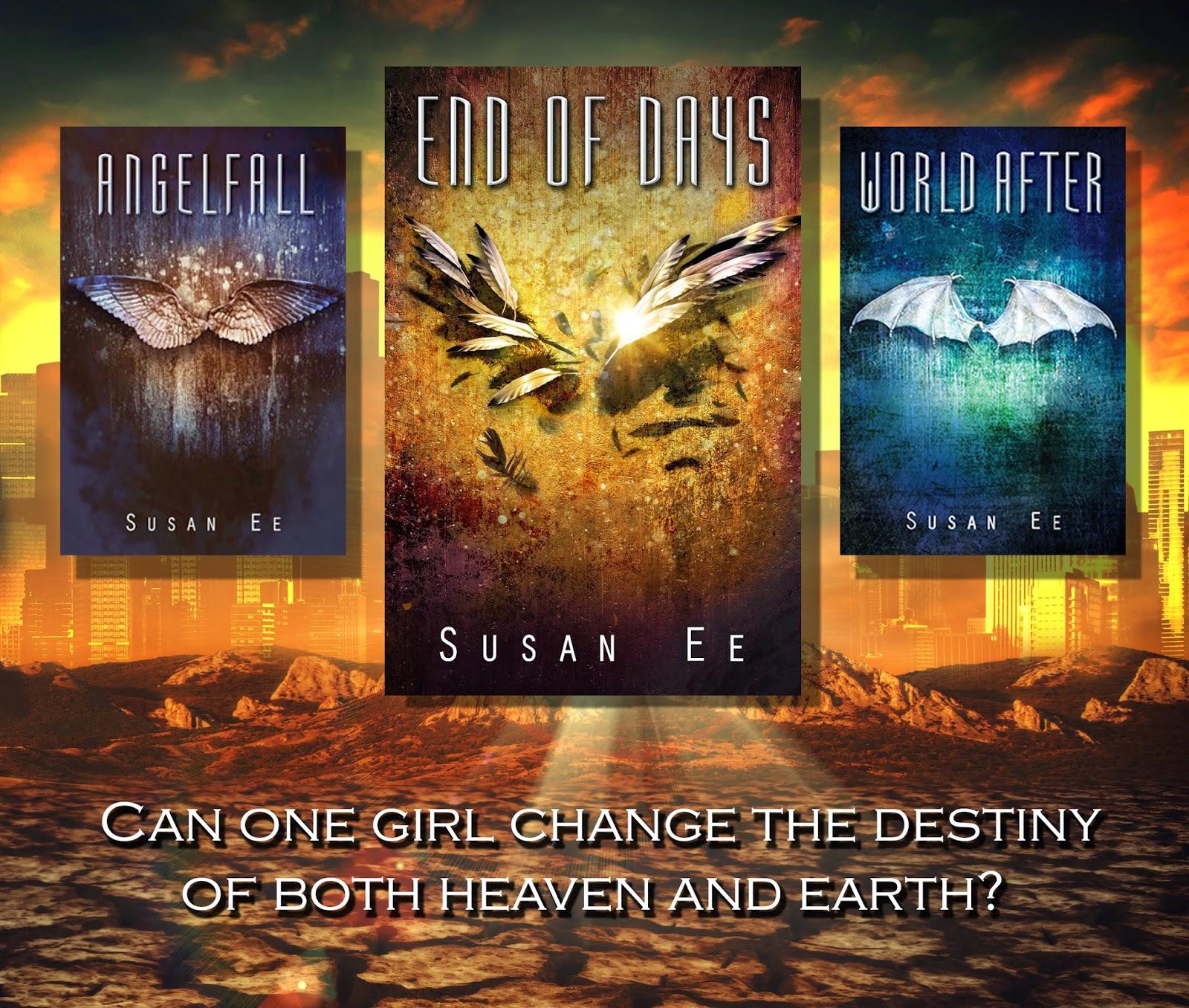 My Book Boyfriend Angelfall World After & End Of Days Penryn