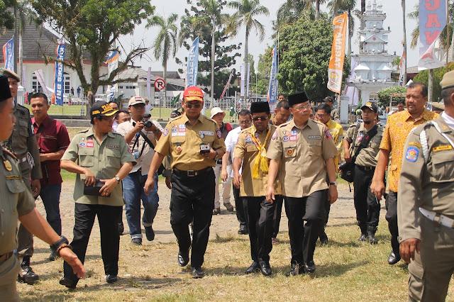 Menteri Sosial Canangkan Kampung Siaga Bencana