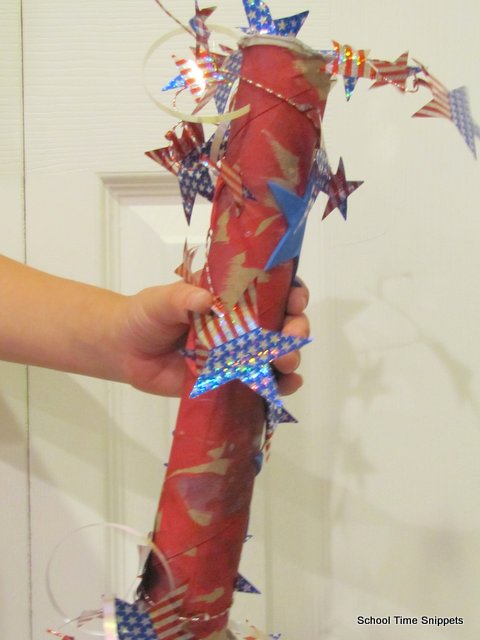 4th of july noisemaker kid craft