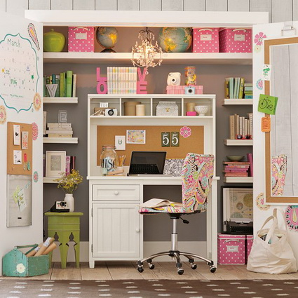 Ideas for children's study areas 6