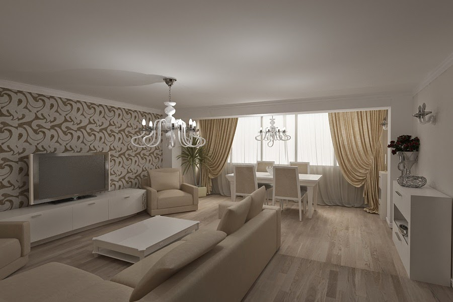 Design interior living casa moderna Constanta - Design Interior - Amenajari interioare | Design - interior - living - casa