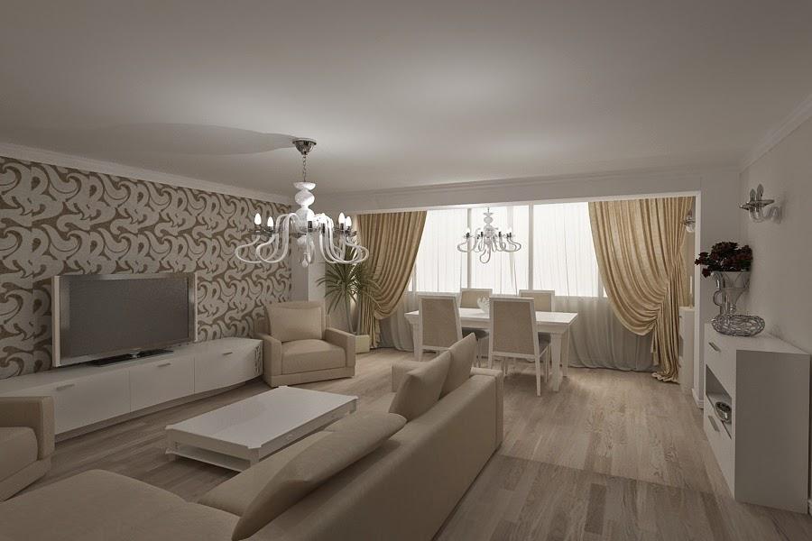 Design interior living casa moderna Constanta - Design Interior - Amenajari interioare | Design - interior - living - casa