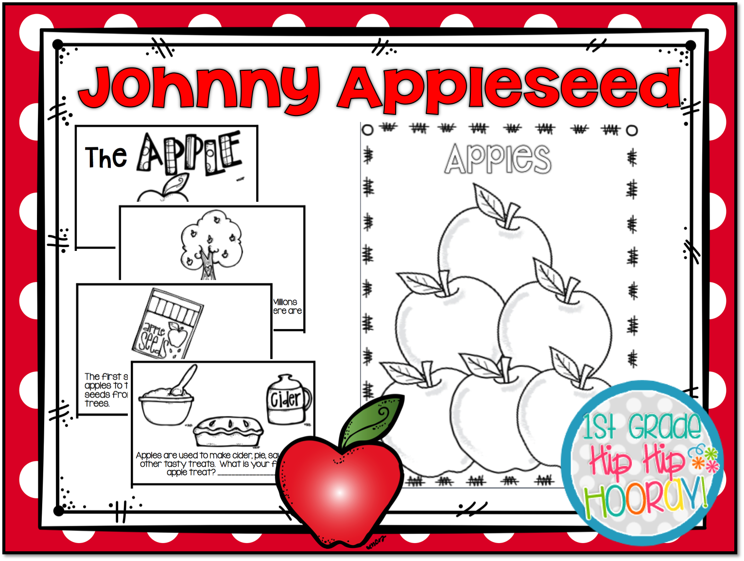 1st Grade Hip Hip Hooray Fall Is Apples And Johnny