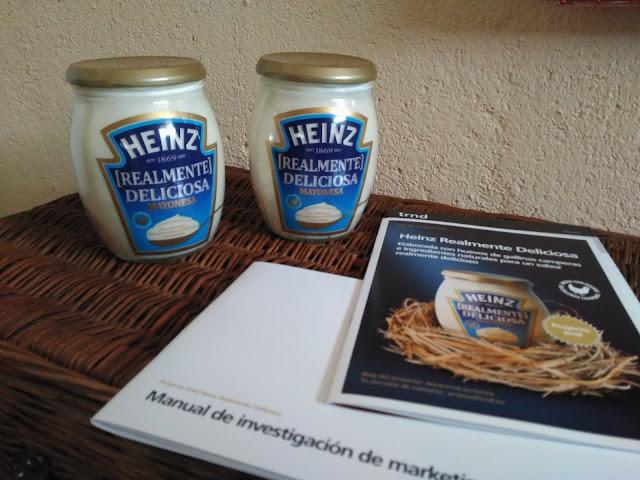 Probando Heinz Realmente Deliciosa