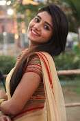 aditi menon new sizzling half saree stills-thumbnail-11