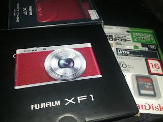 FUJIFILM XF1のパッケージ