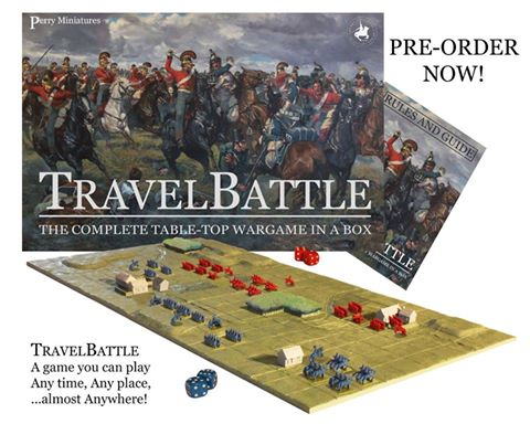 Perry Miniatures: Travel Battle - Napoleonic Miniature Wargame Pre-Order