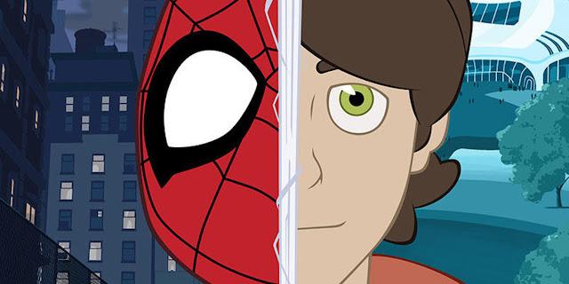 Marvel Spider Man Homem Aranha animação