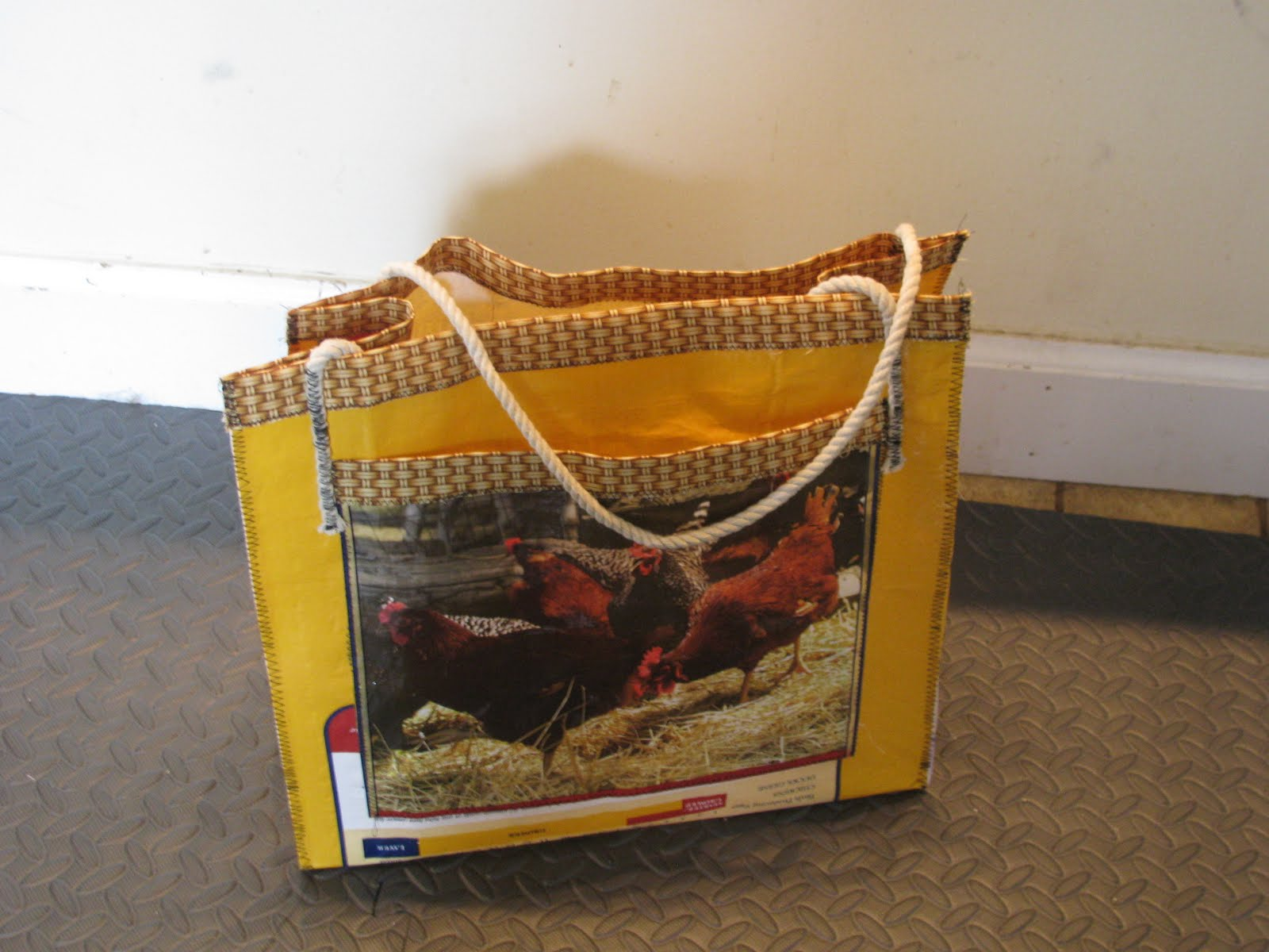 Recycle Woven Plastic Dog Food Bag