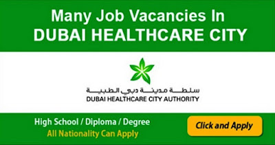 Latest Job Vacancies in Dubai Healthcare City